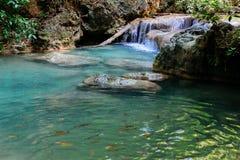 De Waterval van Erawan Royalty-vrije Stock Afbeeldingen