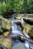 De Waterval van Erawan stock fotografie