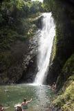 De Waterval van Fiji zwemt royalty-vrije stock afbeeldingen