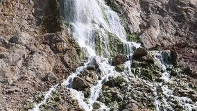 De waterval van Gibraltar stock video