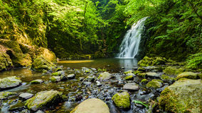 De Waterval van Glenoe Royalty-vrije Stock Fotografie