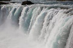 De waterval van Godafoss Stock Foto