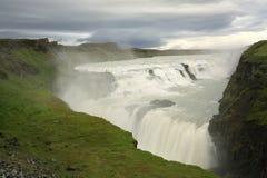 De waterval van Gullfoss Royalty-vrije Stock Fotografie
