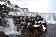 De waterval van Gullfoss Royalty-vrije Stock Afbeeldingen