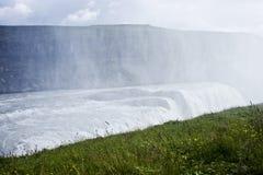 De Waterval van Gullfoss in Icelad Stock Afbeeldingen