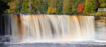 De Waterval van het het noordenhout Royalty-vrije Stock Afbeelding