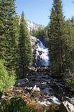 De waterval van het Park van Grand Teton stock fotografie