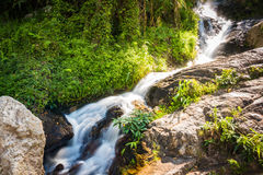 De Waterval van Huaykaew, Chiang-MAI, Thailand Royalty-vrije Stock Fotografie