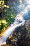De Waterval van Huaykaew, Chiang-MAI, Thailand Royalty-vrije Stock Foto