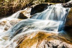 De Waterval van Huaykaew, Chiang-MAI, Thailand Royalty-vrije Stock Foto's