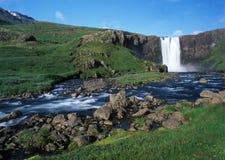 De waterval van IJsland Stock Afbeelding