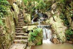 De waterval van Kao chon Stock Afbeelding