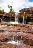 De waterval van Kbalchhay wordt gevestigd in Khan Prey Nup in Sihanoukville stock foto's