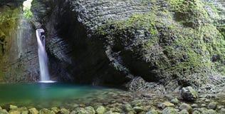 De waterval van Kozjak Stock Afbeelding