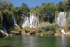 De Waterval van Kravice, Bosnië-Herzegovina Royalty-vrije Stock Foto's