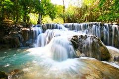 De Waterval van KuangXi van Lao2 royalty-vrije stock foto