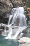 De waterval van Lillaz Stock Afbeelding