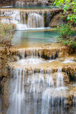 De waterval van Mae Kamin van Huay Royalty-vrije Stock Fotografie
