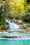 De waterval van Mae Kamin van Huay Stock Afbeeldingen