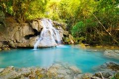 De waterval van Mae Kamin van Huay Royalty-vrije Stock Afbeelding