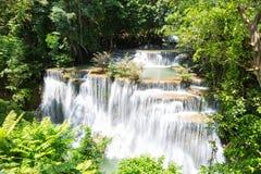 De Waterval van Mae Khamin van Huai Stock Afbeeldingen