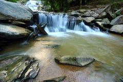 De waterval van Mae Khamin van Huay, Thailand Royalty-vrije Stock Afbeeldingen