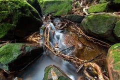 De waterval van Mae Khamin van Huay, Thailand Royalty-vrije Stock Fotografie