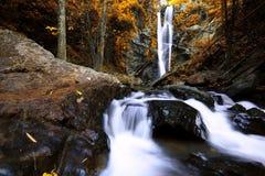 De Waterval van Morkfaa Stock Foto