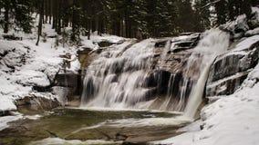 De waterval van Mumlava Royalty-vrije Stock Foto