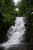 De Waterval van Namtoksiriphum Sirithan bij Mae Ya Doi Inthanon Chiang-MAI Thailand Stock Foto's