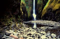 De waterval van Oregon stock foto's