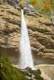 De waterval van Pericnik Royalty-vrije Stock Afbeelding