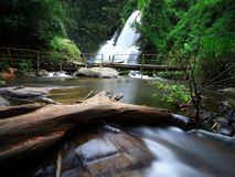 De Waterval van Phadok Siew Stock Afbeeldingen