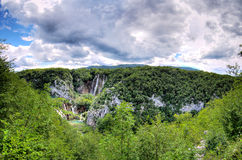 De waterval van Plitvice royalty-vrije stock fotografie