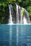 De waterval van Plitvice stock foto's