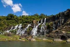 De waterval van Pongour Royalty-vrije Stock Fotografie