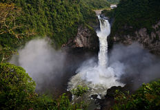 De Waterval van San Rafaël Royalty-vrije Stock Foto's