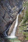 De waterval van Savica Stock Foto's