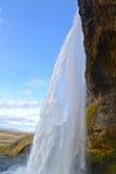 De waterval van Seljalandsfoss Royalty-vrije Stock Foto