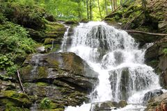 De waterval van Shypit Stock Foto