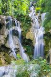 De Waterval van Si van Kuang Royalty-vrije Stock Foto's