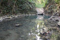 De Waterval van Sietealtares in Livingston Guatemala stock foto's