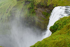 De waterval van Skogafoss Royalty-vrije Stock Afbeeldingen