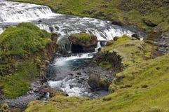 De Waterval van Skogar Royalty-vrije Stock Foto