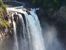 De waterval van Snoqualmiedalingen Stock Afbeeldingen