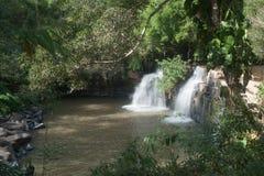 De Waterval van Sridit in het Nationale Park van Tungsalanglung, Thailand Stock Afbeelding