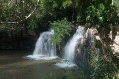 De Waterval van Sridit in het Nationale Park van Tungsalanglung, Thailand Royalty-vrije Stock Foto