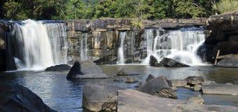 De Waterval van Tadton in Thailand Stock Afbeelding