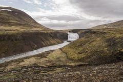 De Waterval van Thorufossãžã ³ rufoss, IJsland Stock Fotografie