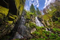 De waterval van Vodopadbystre Stock Foto